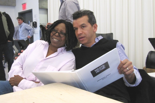 Photo Flash: Goldberg-Produced White Noise Begins Rehearsals in NYC; Mauzy, Padgett Lead Cast