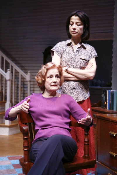 Jennifer Harmon, and Josie de Guzman at Alley Theatre's AUGUST: OSAGE COUNTY