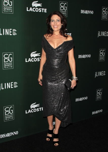 Lisa Edelstein in attendance; The 13th Annual Costume Designers Guild Awards held at  Photo