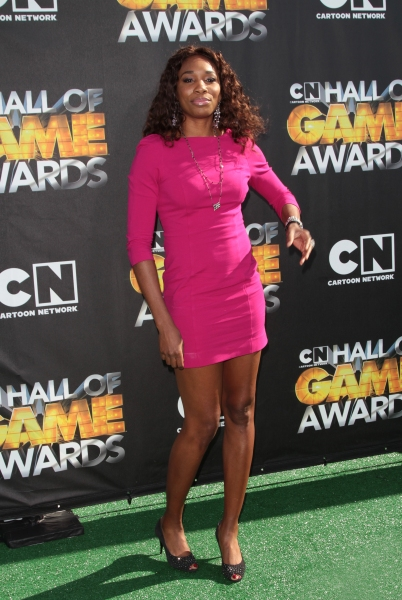 "Venus Williams in attendance; The Cartoon Network ""Hall of Game Awards"" held at Barker Hanger in Santa Monica, California on February 21th, 2011"