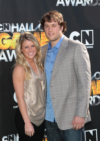 Matthew Stafford in attendance; The Cartoon Network 'Hall of Game Awards' held at Barker Hanger in Santa Monica, California on February 21th, 2011 at The Cartoon Network 'Hall of Game Awards'