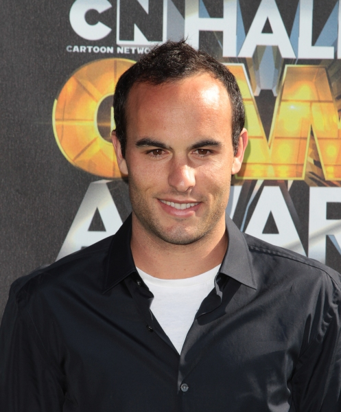 "Landon Donovan in attendance; The Cartoon Network ""Hall of Game Awards"" held at Barker Hanger in Santa Monica, California on February 21th, 2011"