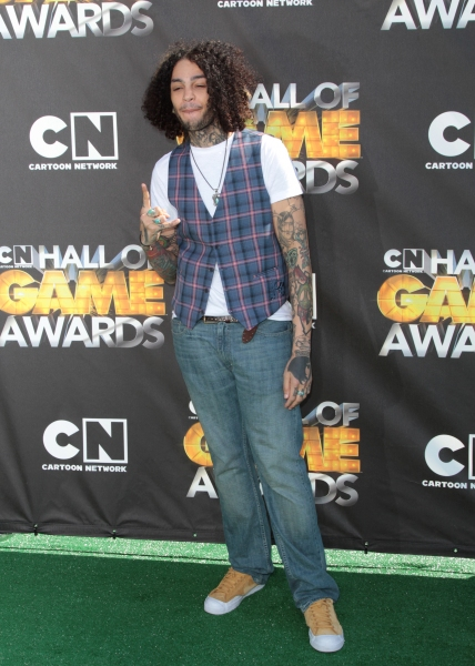 "Travie McCoy in attendance; The Cartoon Network ""Hall of Game Awards"" held at Barker Hanger in Santa Monica, California on February 21th, 2011"
