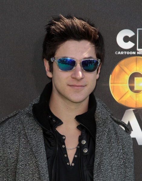 "David Henrie in attendance; The Cartoon Network ""Hall of Game Awards"" held at Barker Hanger in Santa Monica, California on February 21th, 2011.  © RD / Orchon / Retna Digital"