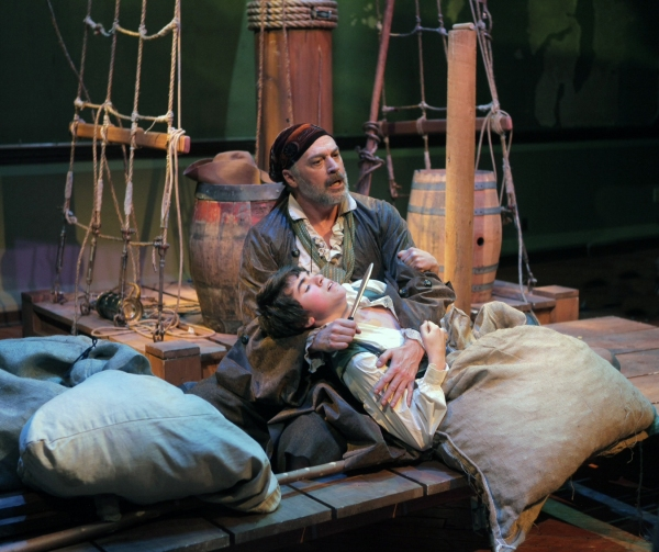 Photo Flash: Hewitt, Galvin, et al. in TREASURE ISLAND