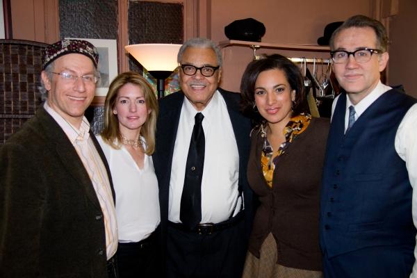 Jonathan Schorsch, Kathryn Stockett, James Earl Jones, Michelle Miller Photo