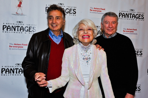 Photo Flash: Carol Channing Visits the Pantages Theatre