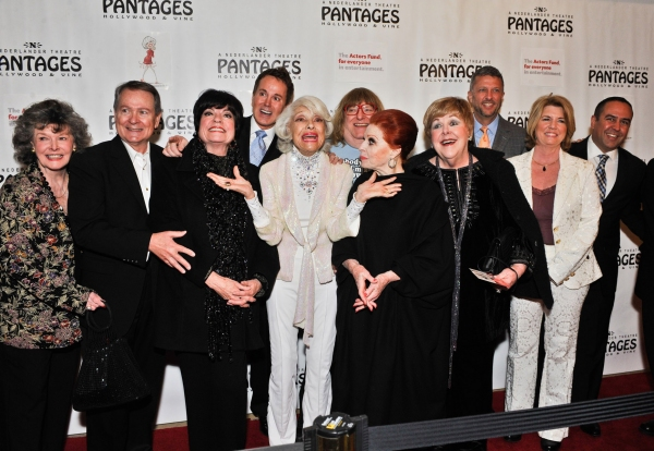 Jomarie Ward, John Holly, Joanne Worley, Davis Gaines, Carol Channing, Bruce Vilanch, Carole Cook, Mary Jo Catlett, Keith McNutt, Meg Thomas and Louie Anchondo