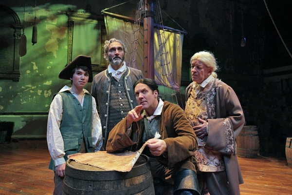 Photo Flash: Steve Blanchard, Tom Hewitt, et al. in TREASURE ISLAND
