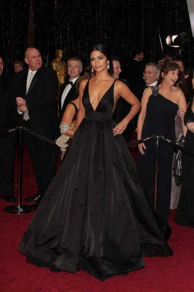 Camila Alves; Matthew McConaughey pictured at the 83rd Annual Academy Awards - Arrivals held at the Kodak Theatre in Hollywood, California on February 27, 2011. © RD / Orchon / Retna Digital.