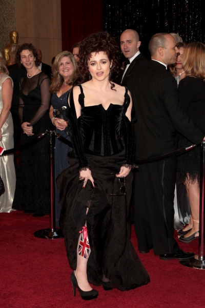 Helena Bonham Carter pictured at the 83rd Annual Academy Awards - Arrivals held at the Kodak Theatre in Hollywood, California on February 27, 2011. © RD / Orchon / Retna Digital.