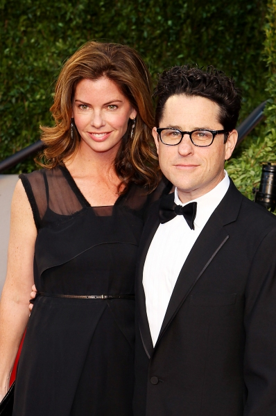 J.J. Abrams and Katie McGrath pictured at The Vanity Fair Oscar Party at Sunset Tower Photo