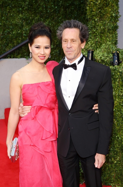 Chau-giang Thi Nguyen and Brian Grazer pictured at The The Vanity Fair Oscar Party at Sunset Tower Hotel in Los Angeles, CA February 27, 2011 © RD/ Erik Kabik/ Retna Digital