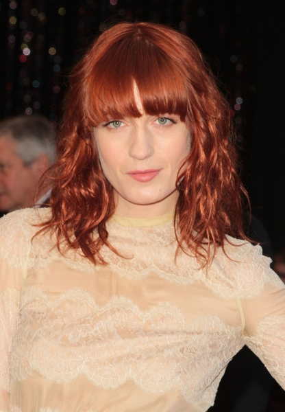 Florence Welch pictured at the 83rd Annual Academy Awards - Arrivals held at the Koda Photo