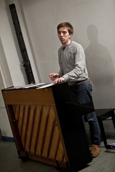 Adam Podd at THE 'OTHER' SPIDER-MAN Musical, THE SPIDEY PROJECT, in Rehearsal!