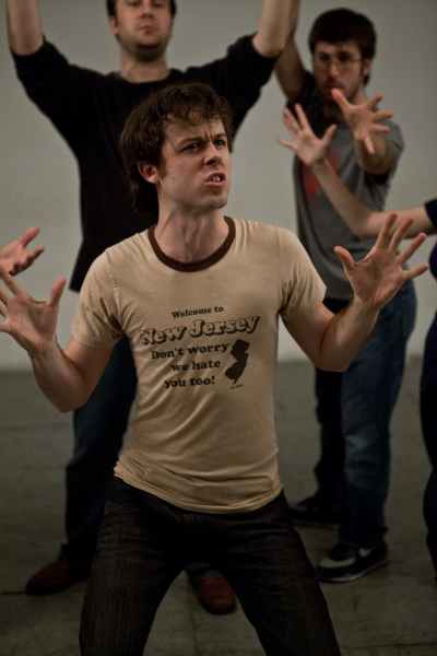 Photo Coverage: THE 'OTHER' SPIDER-MAN Musical, THE SPIDEY PROJECT, in Rehearsal!