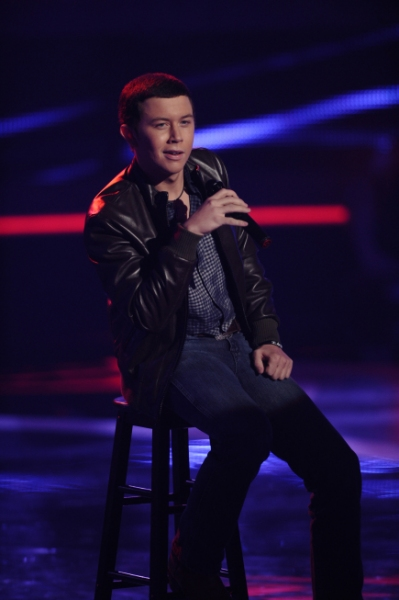 AMERICAN IDOL; Top 24: Scott McCreery performs in front of the judges on AMERICAN IDOL airing Tuesday, March 1, (8:00-10:00 PM ET/PT) on FOX. CR: Michael Becker / FOX