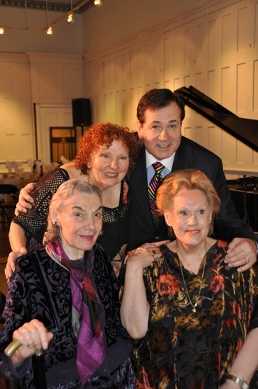 Crystal Field, Lee Roy Reams, Marian Seldes and Tammy Grimes
