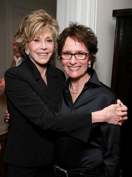 Jane Fonda, Eva Stern  Photo