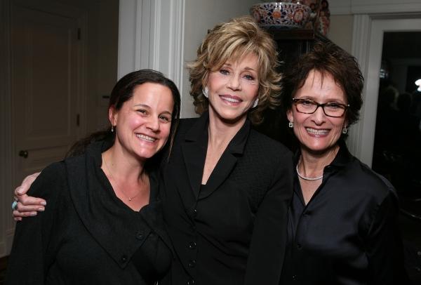 Suzanne Stern Gilison, Jane Fonda and host Eva Stern