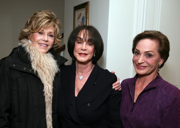 Jane Fonda, Louise Taper and Judy Beckmen