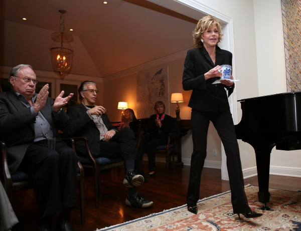 Photo Flash: Jane Fonda in Conversation with Michael Ritchie