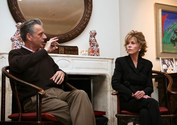 Photo Flash: Jane Fonda in Conversation with Michael Ritchie