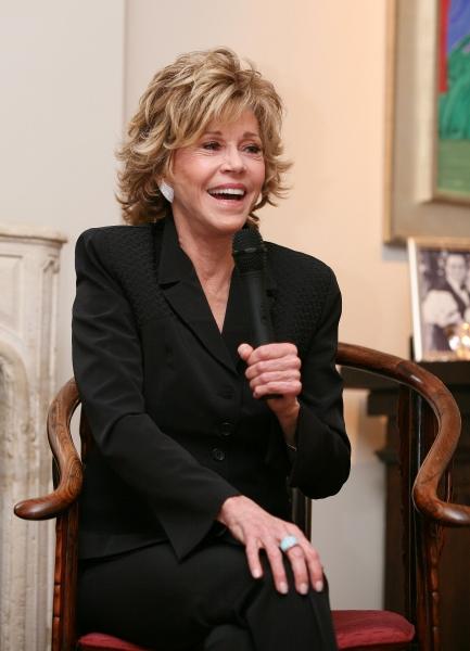 Jane Fonda at Jane Fonda in Conversation with Michael Ritchie