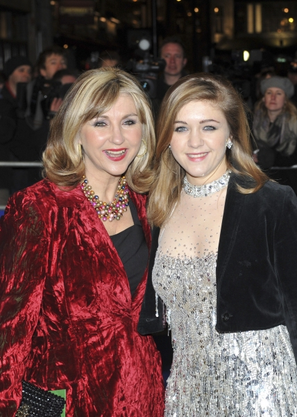 Lesley Garrett and daughter arrive
