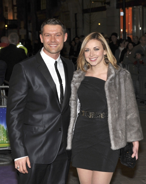Charlotte Church and John Partridge arrive at THE WIZARD OF OZ West End Red Carpet