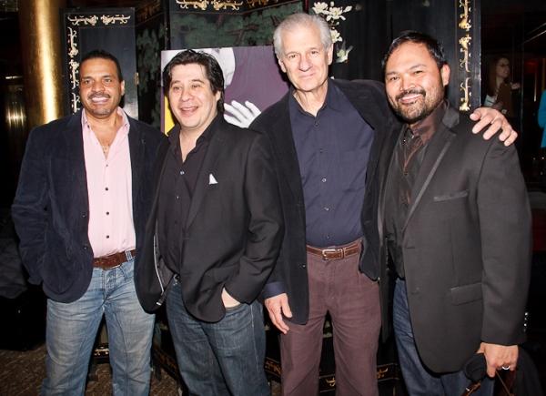 Chris McKinney, Triney Sandoval, Tom Bloom, and Orville Mendoza Photo