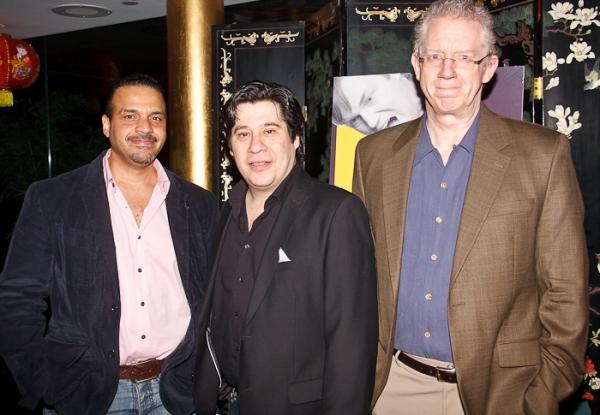 Chris McKinney, Triney Sandoval, and David Manis