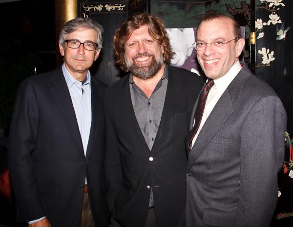 Warren Setzer, Oskar Eustis, and Joey Parnes