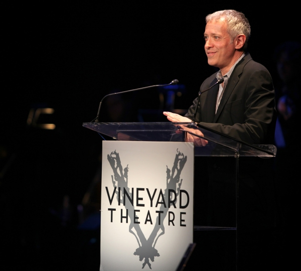 Scott Frankel performing in STRO! The Vineyard Theatre Annual Spring Gala honors Susan Stroman at the Hudson Theatre in New York City