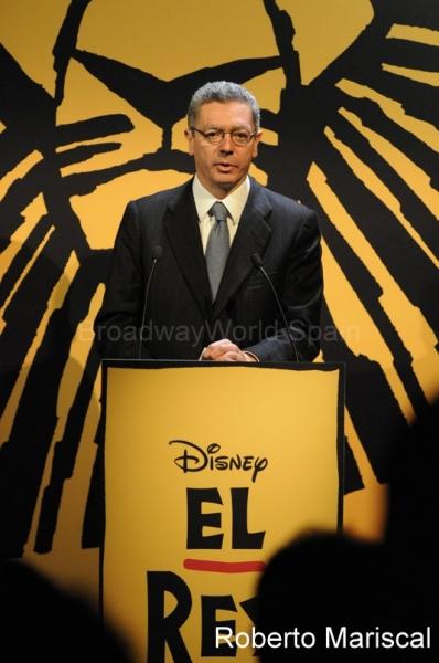 Presentación de 'El Rey León' en el Teatro Real de Madrid
