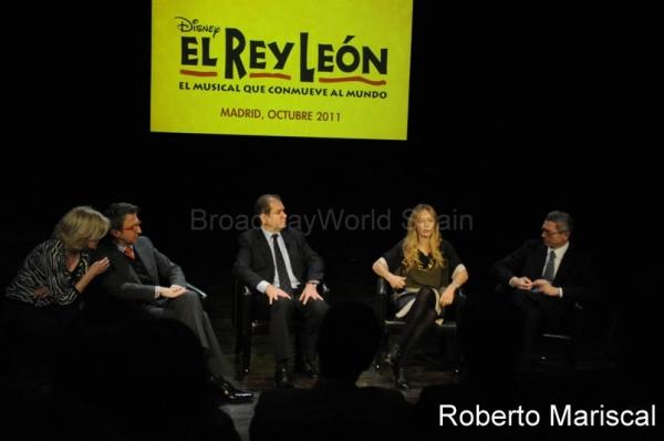Thomas Schumacher, Simon Amsele, Julia Gomez Cora y Alberto Ruiz Gallardon