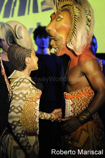 PHOTO Flash: THE LION KING Hits Madrid in October 2011