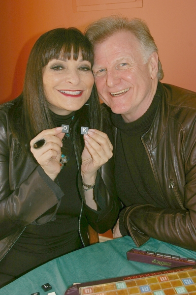 Photos: Jeanne Beker Barry Flatman Prepare for Scrabble with the Stars