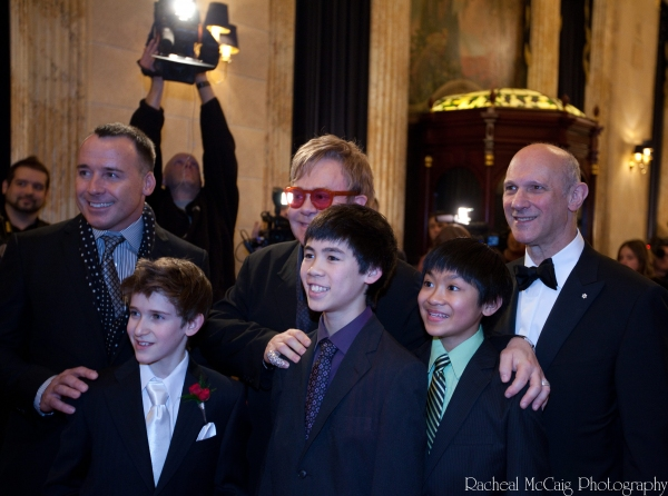 at Elton John Celebrates Toronto's BILLY ELLIOT Opening