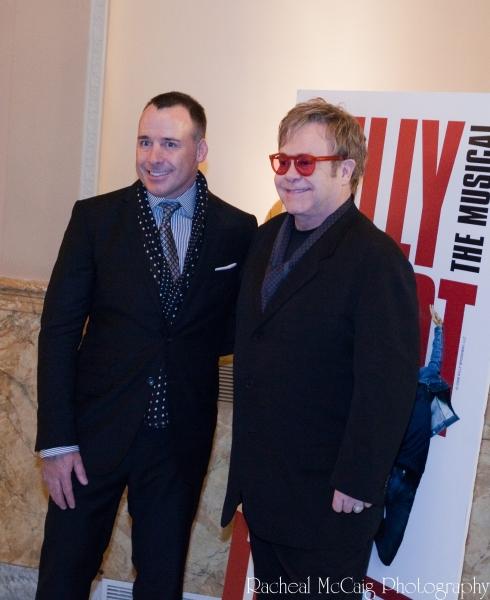 David Furnish and Sir Elton John at Elton John Celebrates Toronto's BILLY ELLIOT Opening