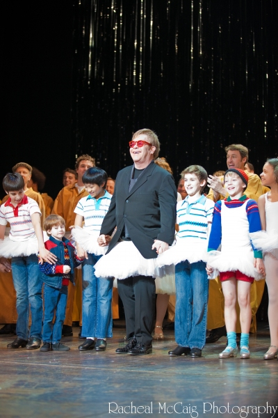 Sir Elton John joins the cast of Billy Elliot Toronto at the Curtain Call