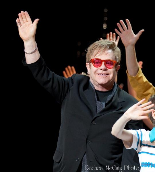 Sir Elton John at Billy Elliot Toronto Curtain Call
