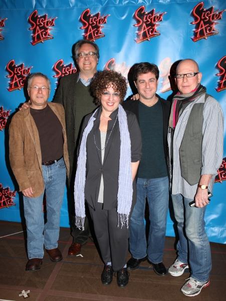 Alan Menken, Douglas Carter Beane, Cheri Steinkellner, Glenn Slater & Anthony Van Laa Photo