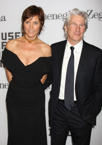 Gere Lowell0743.JPG New York City  28th February 2011 Richard Gere and Carey Lowell at The Museum of the Moving Image tribute to Alec Baldwin, at Cipriani 42nd Street Photo by Adam Nemser-PHOTOlink.net ONE TIME REPRODUCTION RIGHTS ONLY NO WEBSITE USE WITH