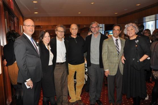 Bruce Whitacre, Robin Pogrebin, Bernard Telsey, Marshall Brickman, David Esbjornson, Hal Luftig and Tyne Daly