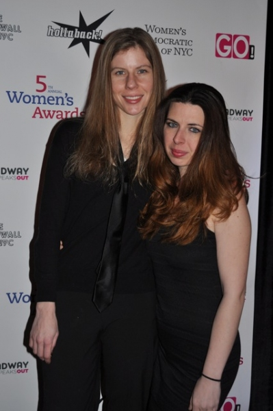 Carolyn Murphy and Heather Matarazzo at 5th Annual Women's Awards