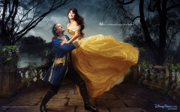Jeff Bridges, Penelope Cruz at Disney Launches New Ad Campaign Featuring Queen Latifa, Alec Baldwin, et al.