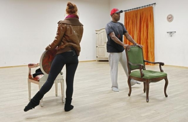 Photo Coverage: New DANCING WITH THE STARS Cast in Rehearsal