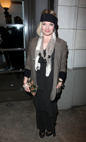 Mary Catherine Garrison arriving for the Opening Night Performance of the Manhattan T Photo
