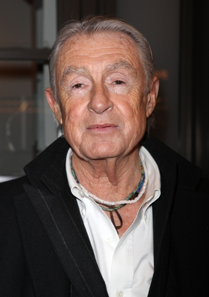 Joel Schumacher arriving for the Opening Night Performance of the Manhattan Theatre Club's 'Good People'  in New York City.